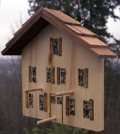 wooden bird feeders to make 3