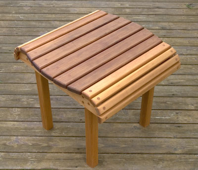 The RunnerDuck Cedar End Table Plan Is Step By Step Instructions On - How to build an end table