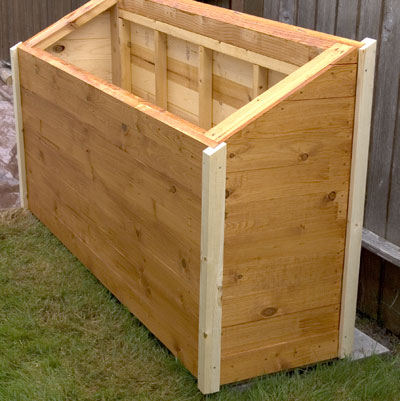 ... instructions on how to build a firewood box out of scrap material