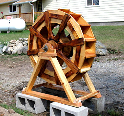 waterwheel plans