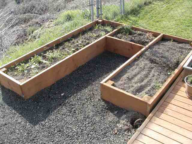 Raised garden bed plans easy woodideas for Raised bed garden layout