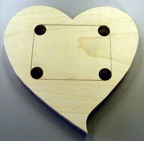 The Runnerduck Heart Picture Frame Step By Step Instructions