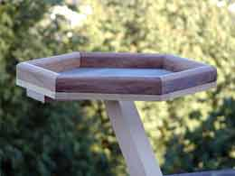 Hexagon Bird Feeder