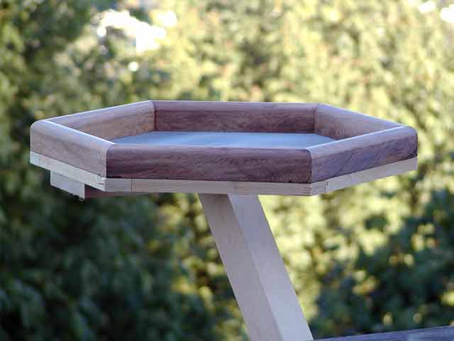 Hex Bird Feeder