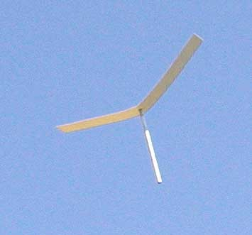Pencil_Copter in flight