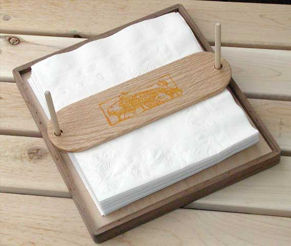 Wooden Napkin Holders Plans
