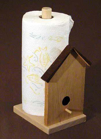 Free Paper Towel Holder Plans