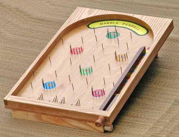 marble wood game