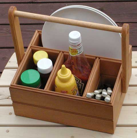 The RunnerDuck Picnic Caddy, step by step instructions.