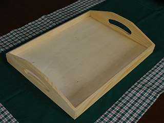 Timber Serving Tray Plans