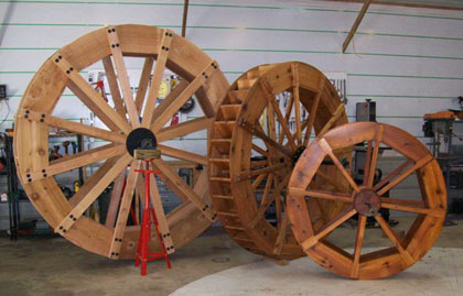 The Runnerduck Waterwheel Project Step By Step Instructions