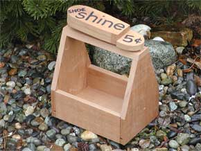 Shoe Shine Planter