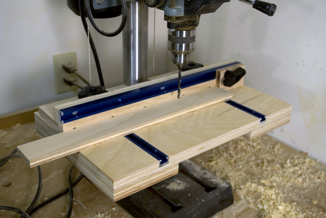 Drill Press Table Fence Plans