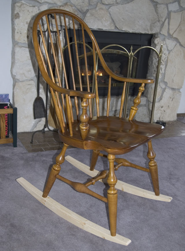 The RunnerDuck Windsor Chair Rockers, step by step instructions.
