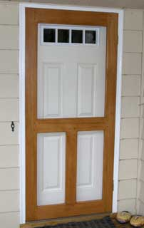 Wood Screen Door Plans Free