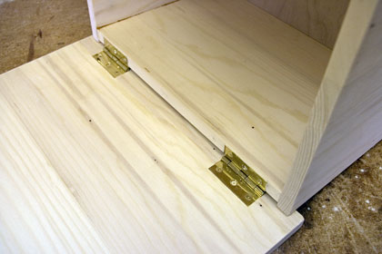woodwork hinges