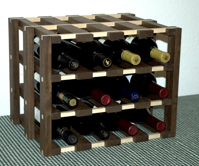How To Make A Timber Wine Rack