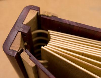 Wooden Scrapbook